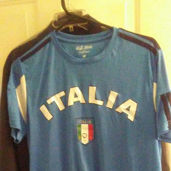 size 40 29844 f3e2c Italia Soccer Jersey